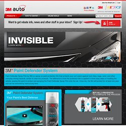 3M Auto: Products for People Who Love Cars