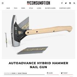 AutoAdvance Hybrid Hammer Nail Gun