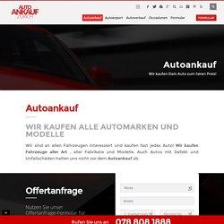 Autoankauf - Auto ankauf - Autoankauf Schweiz