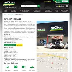 Autobarn Midland - Store Locator