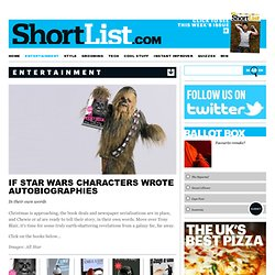 Star Wars Autobiographies - Films
