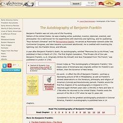 Benjamin Franklin : Autobiography