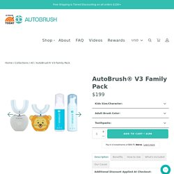 AutoBrush® Electric Toothbrush Offer For The Whole Family- Best Seller