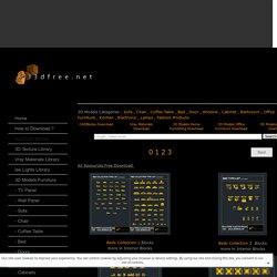 AutoCAD Blocks - all3dfree.net