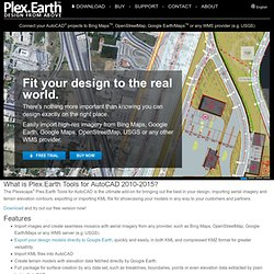 Plex.Earth - Google Earth AutoCAD