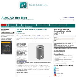 AutoCAD Tips Blog - AutoCAD tips & tutorials to help you work faster & smarter