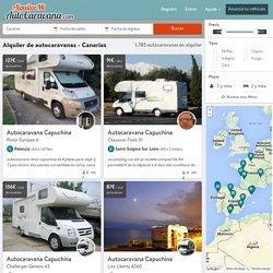 Alquiler de Autocaravanas y Furgonetas camper - Canarias