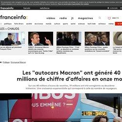 """Les """"autocars Macron"""" ont généré 40 millions de chiffre d'affaires en onze mois"""