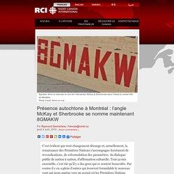 Présence autochtone à Montréal : l'angle McKay et Sherbrooke se nomme maintenant 8GMAKW