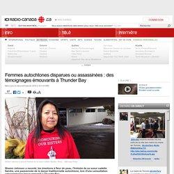 Femmes autochtones disparues ou assassinées : des témoignages émouvants à Thunder Bay