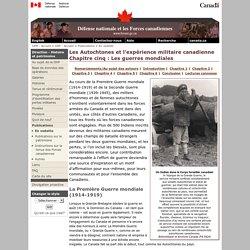 DHP - Les Autochtones et l'experience militarie canadienne : une histoire - Chapitre 5