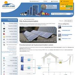 Autoconsommation photovoltaïque - Gamme & Tarifs * SOLARIS-STORE
