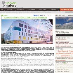 Un premier bâtiment tertiaire en France en autoconsommation