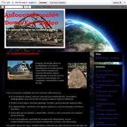 Autoconstrucción Domo Eco-lógico: 15. Cubierta final exterior