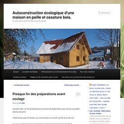 blog autoconstruction écologique. du bois, de la terre et de la paille - Part 39