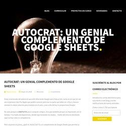 AutoCrat: Un genial complemento de Google Sheets – Miquel Flexas