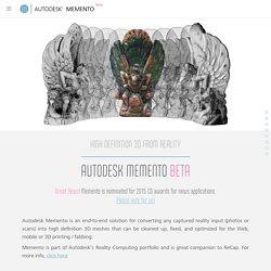 Autodesk Memento