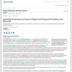Autodesk - Newsroom - Press Releases