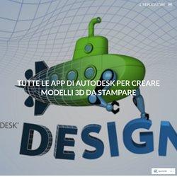 Tutte le App di Autodesk per creare modelli 3D da stampare