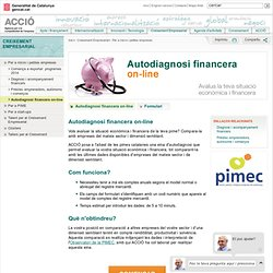 Autodiagnosi financera on-line