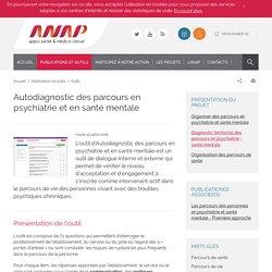 ANAP -Autodiagnostic des parcours en psychiatrie et en santé mentale