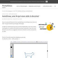 AutoDraw, une IA qui vous aide à dessiner