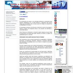 El autoempleo - Curso Tecnico Orientacion e Insercion Laboral