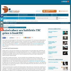 Autoévaluer ses habiletés TIC grâce à InukTIC