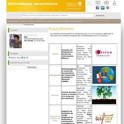 Site de la Direction des Bibliothèques et de l'IST