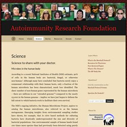 Science « Autoimmunity Research Foundation