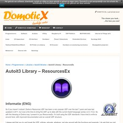 Autoit3 Library - ResourcesEx