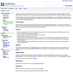 autokey - Desktop automation utility for Linux and X11