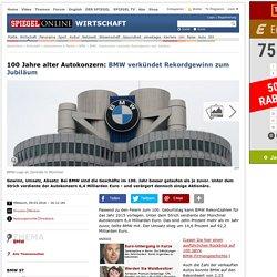 BMW: Autokonzern verkündet Rekordgewinn zum Jubiläum