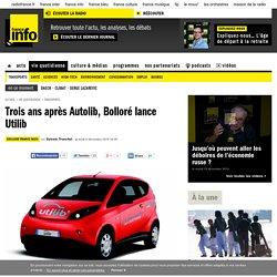 Trois ans après Autolib, Bolloré lance Utilib