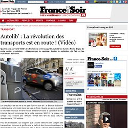 Autolib' : La révolution des transports est en route ! (Vidéo)