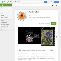AutoLocation – Applications Android sur Google Play