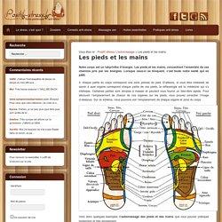 Automassage des pieds et des mains