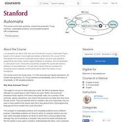 Automata - Stanford University