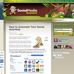 How to Automate Your Social Activities