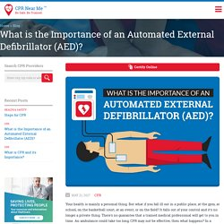 What is the Purpose of an Automated External Defibrillator (AED)?
