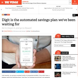 Digit is the automated savings plan we've been waiting for