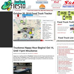 Food Truck Fiesta - a real-time automated DC food truck tracker with commentary