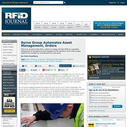 Byrne Group Automates Asset Management, Orders