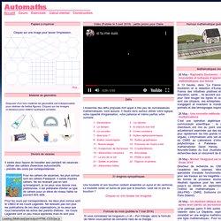 Automaths : mathématiques pour le collège