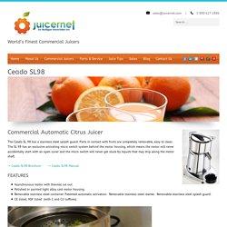Ceado SL98 - Automatic Citris Commercial Juicer - Juicernet Florida