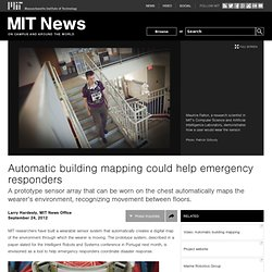 Automatic building mapping could help emergency responders