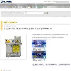 Automatic intermittent piston pump MMXL-III LUBE Japan