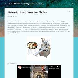 Automatic Momos Production Machine