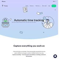 Automatic Time Tracking