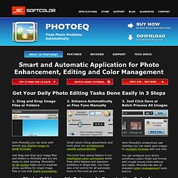 PhotoEQ - Makes Digital Image Improvement Simpler on Your PC